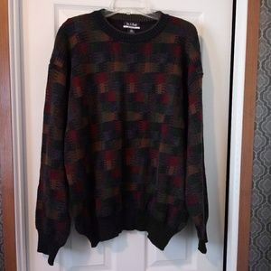 VTG Jos A Babk Merino Wool Grandpa Sweater - XL